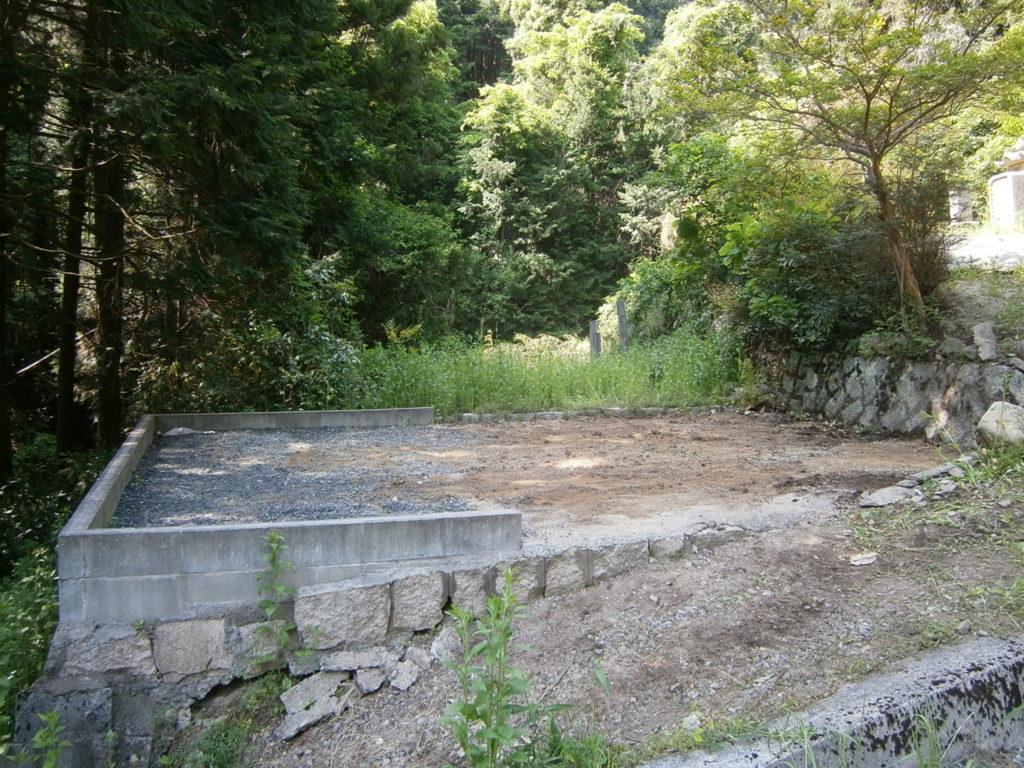 2013年3月施工 庄原市 O様 墓じまいの施工事例