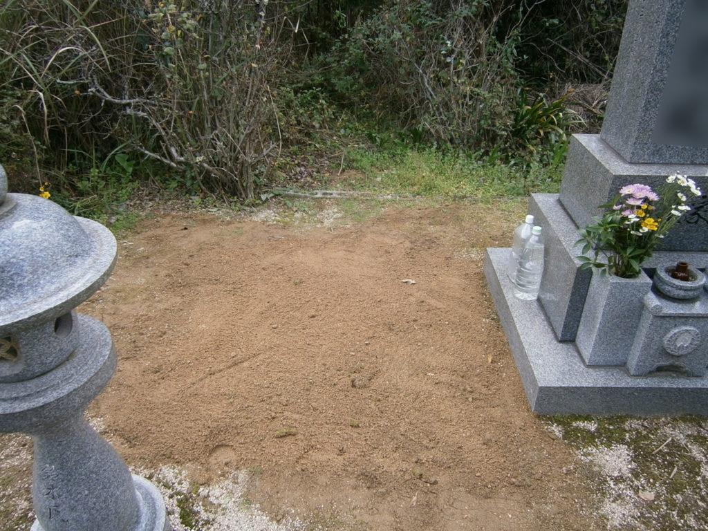 2013年11月施工 広島県廿日市市S様 墓じまい