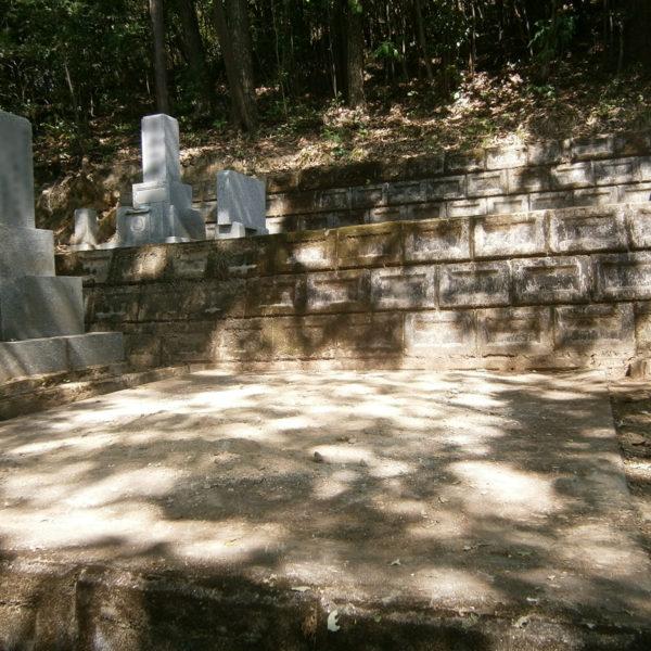 2014年4月施工 広島県安芸郡H様 9寸3重台 + 墓じまい