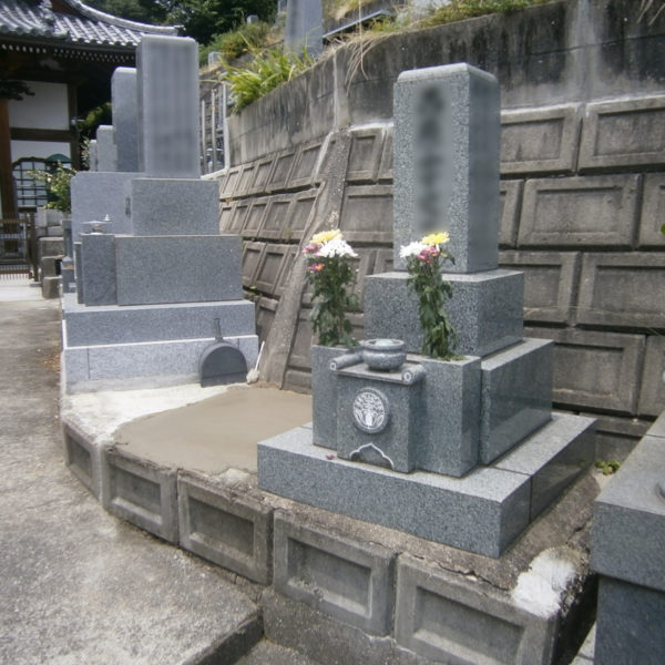 2014年11月施工 広島県広島市東区N様 8寸3重台 墓じまい